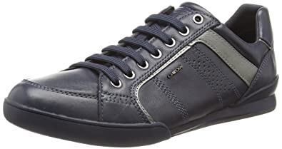 82d82be4f6b Geox Men's U Kristof a Low-Top Sneakers: Amazon.co.uk: Shoes & Bags