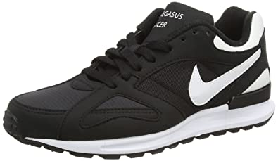 online store 88ae0 a0287 Nike Air Pegasus New Racer Chaussures de Running, Homme, Noir, 39