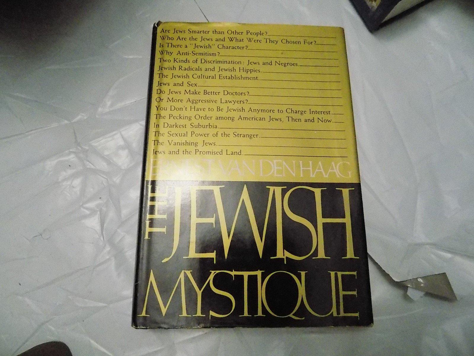 The Jewish Mystique: Ernest Van Den Haag: 9780812812671: Amazon: Books