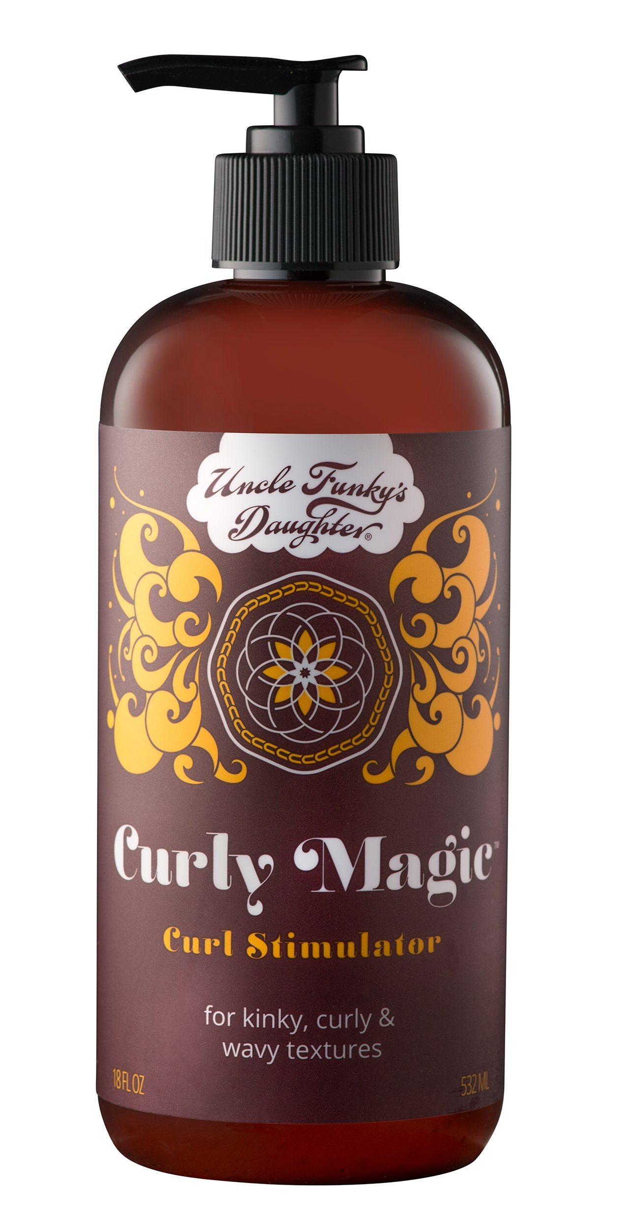 Curly Magic Curl Stimulator (18 oz) by Uncle Funky's Daughter