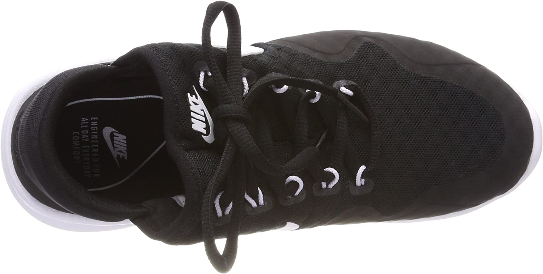 Nike Women's WMNS AIR MAX Sasha, Black/White-Black-White Black (Black/White-black-wh 003)
