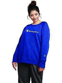 c6c04af6cd8 Champion Women s Plus Size Fleece Crew Sweatshirt Sweater