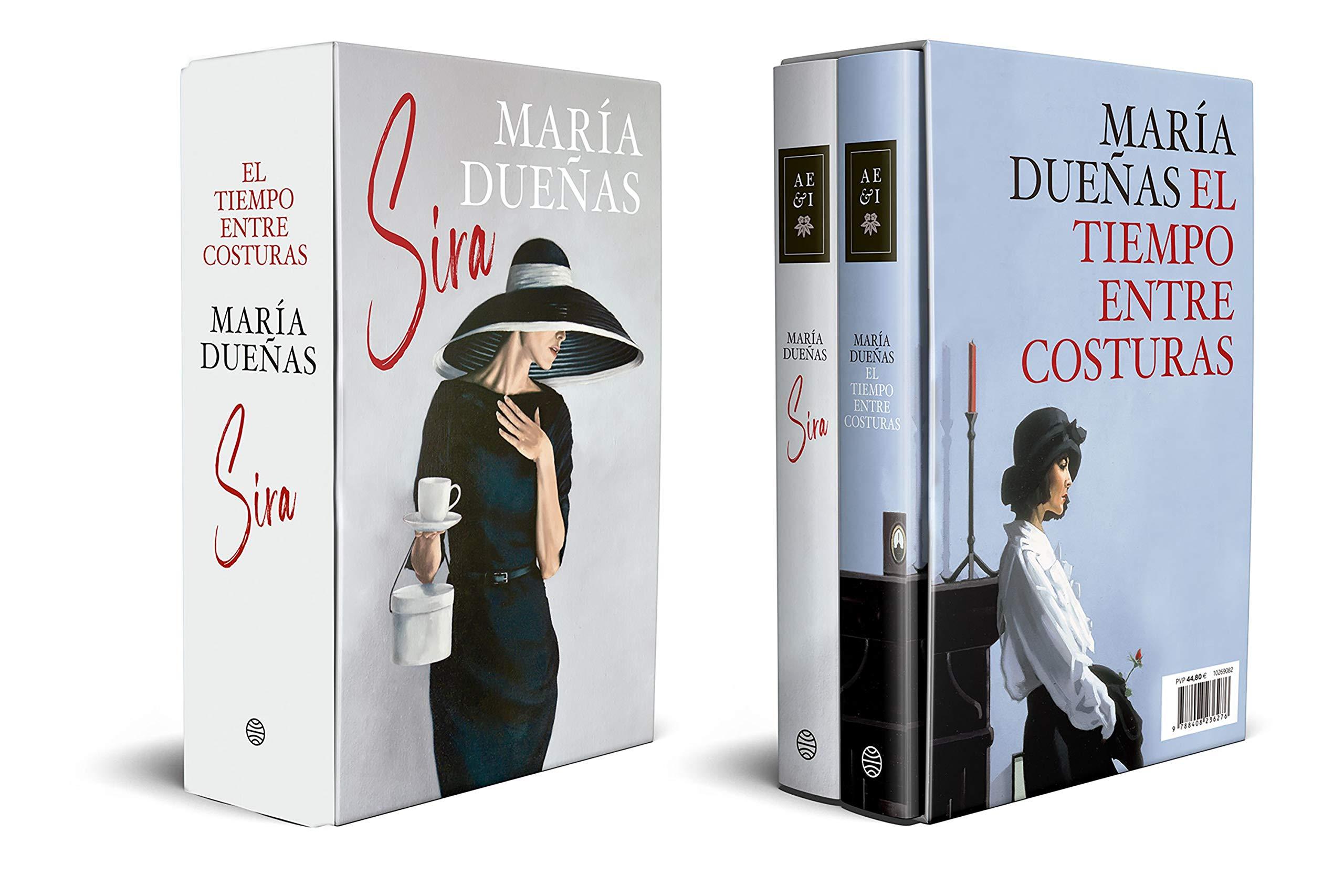 Estuche El Tiempo Entre Costuras Y Sira Autores Españoles E Iberoamericanos Dueñas María Amazon Es Libros