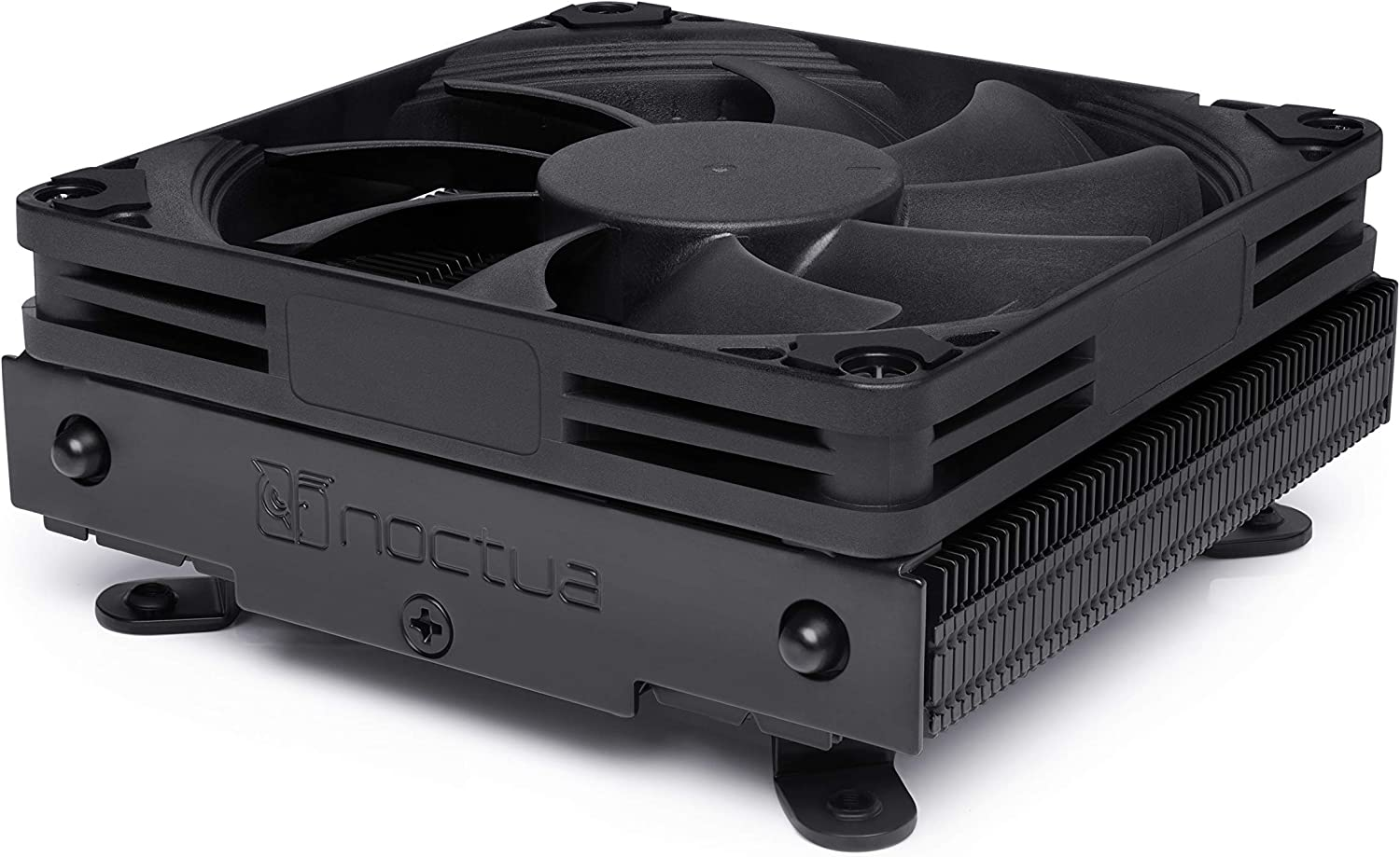 Noctua NH-L9i chromax.Black, Low-Profile CPU Cooler for Intel LGA115x (Black)