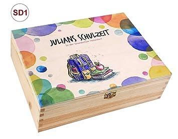Hochzeits-Holz-Geschenkbox Holz-Kassette r5 incl für A4 Auswahl-Lasergravur
