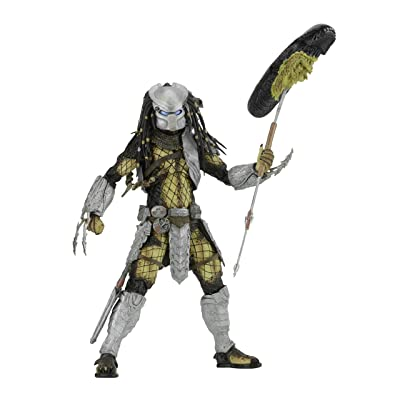 "NECA Predator - 7"" Scale Action Figure - Series 17 AvP Youngblood Action Figure: Toys & Games"
