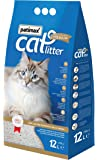 Patimax Fragrance Long Lasting Premium Cat Litter with Baby Powder, 12 Litre