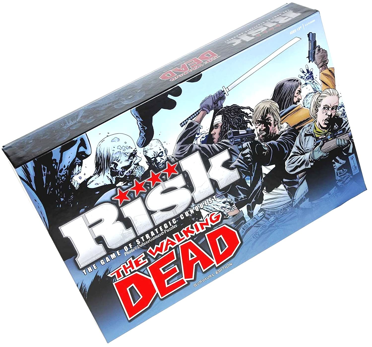 RISK The Walking Dead Survival Edition Board Game by USAopoly by USAopoly