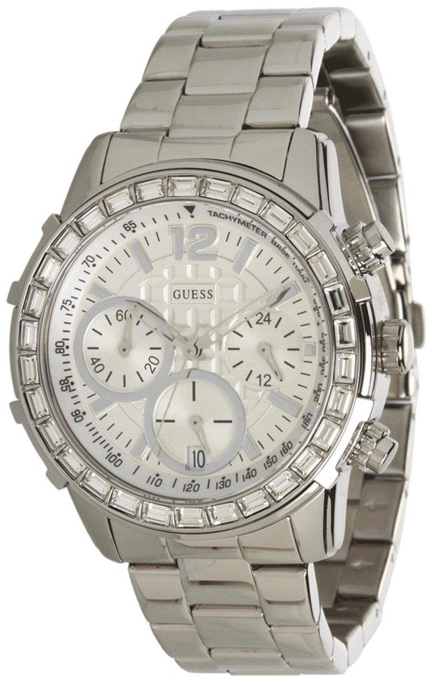 GUESS Women's U0016L1 Dazzling Sport Chronograph Watch