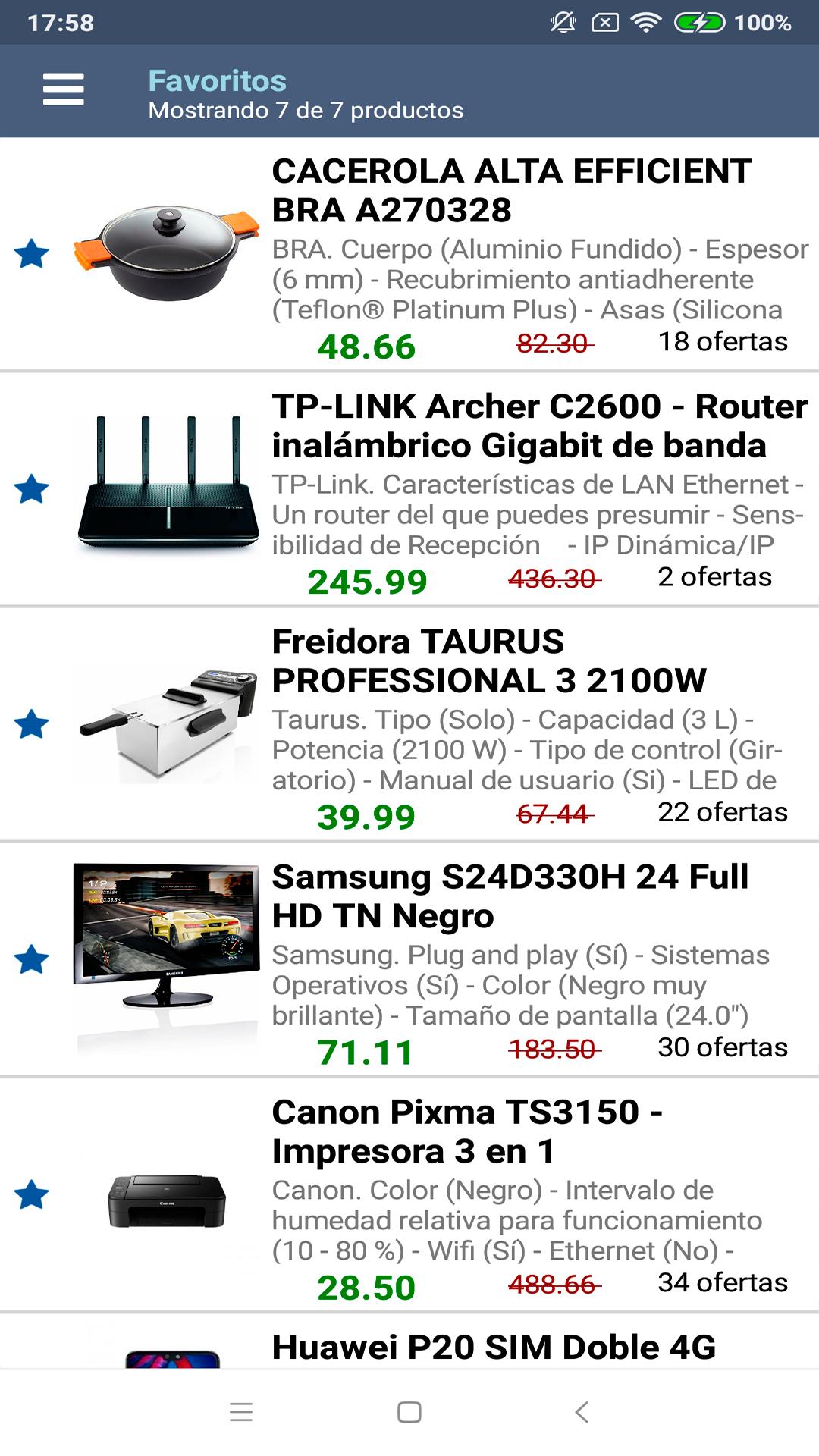 Consumer - Comparador de ofertas & precios: Amazon.es: Appstore ...