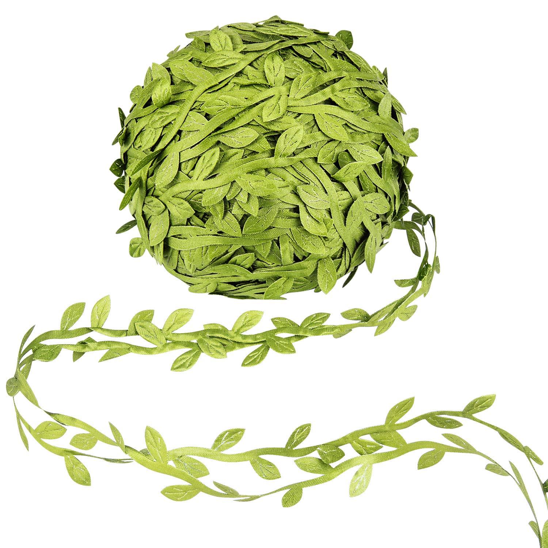 Awpeye 525 Ft Artificial Greenery Garlands, Fake Hanging Plants Ribbon DIY Vine Flower Leaves Decorative Home Wall Garden Wedding Party Wreaths Decor