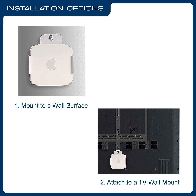 QualGear Mounting Kit for Apple TV