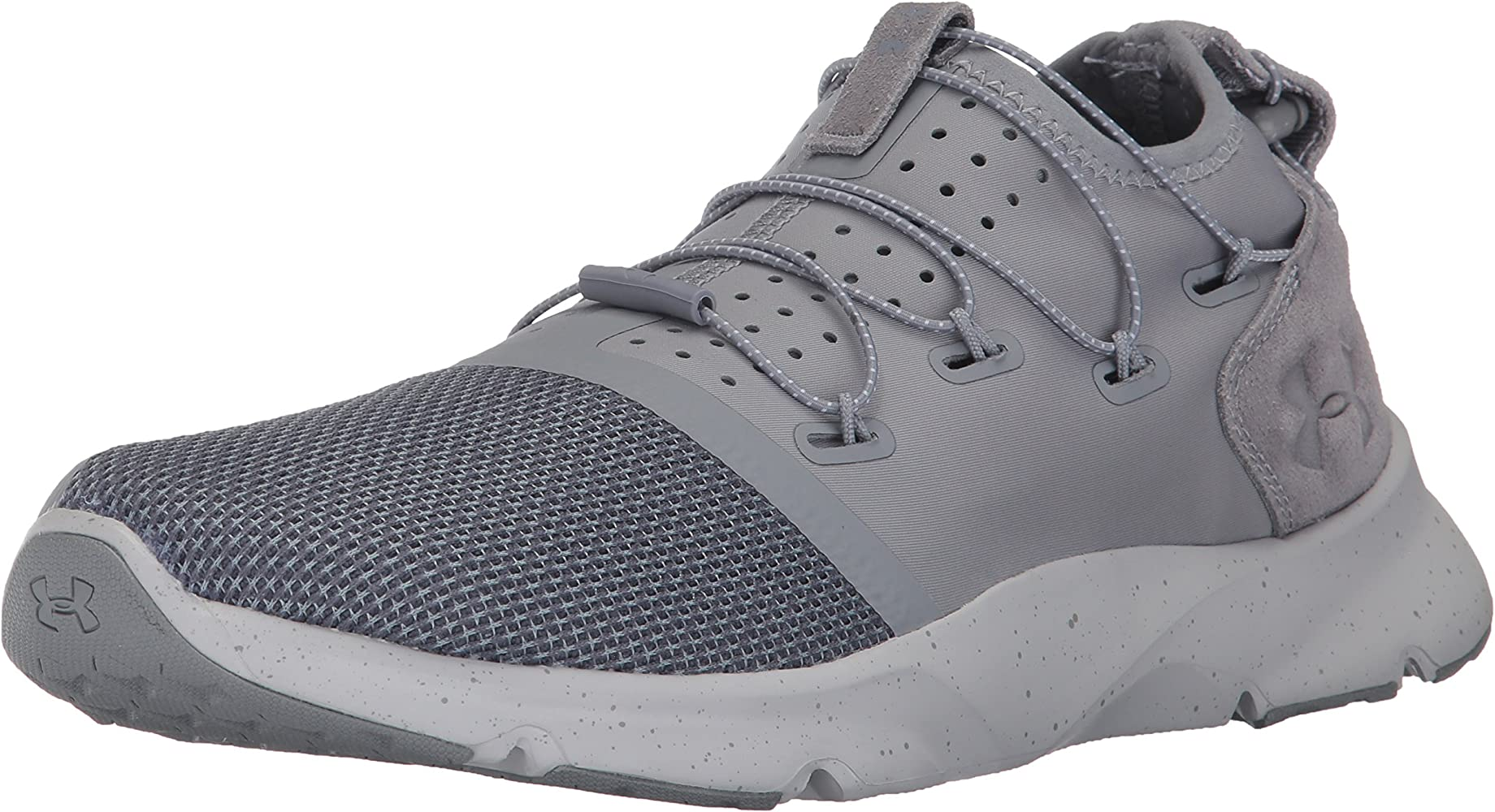 Under Armour Mens Drift 2 Sneaker, Steel (035)/Glacier Gray, 8 ...