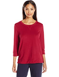 6a243ae0e564 Amazon.com  Karen Neuburger Women s KN Cool Short Sleeve V-Neck ...