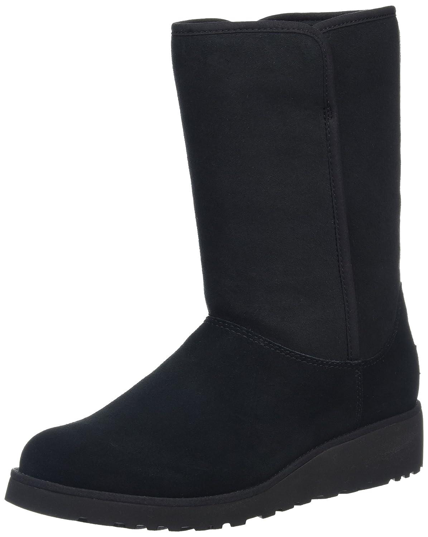 UGG Classic Slim AMIE, Zapatillas Altas para Mujer, Negro (Nero), 38 EU