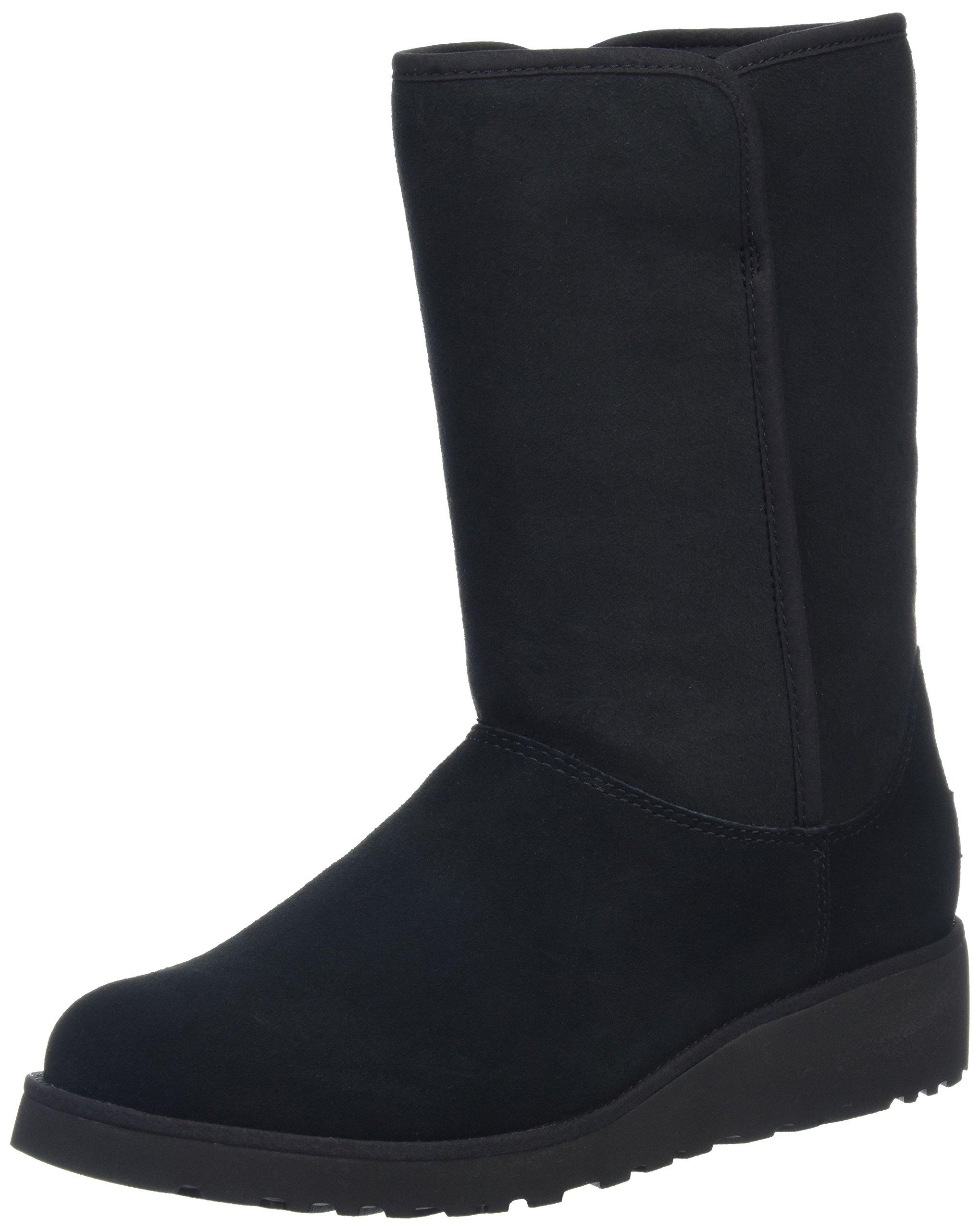 UGG Women's Amie Winter Boot, Black, 8.5 B US
