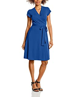 The Wrap, Robe Femme, Bleu (Midnight Blue), 44 (Taille Fabricant: 16)Hot Squash