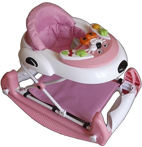 Babyco - Andador para bebé, color rosa: Amazon.es: Bebé
