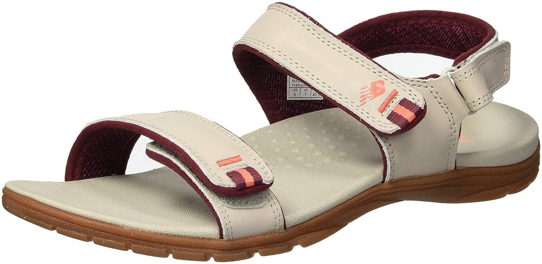 2369f0635d1966 Amazon.com | New Balance Women's Traverse Leather Sandal, Taupe, 7 B US |  Sandals