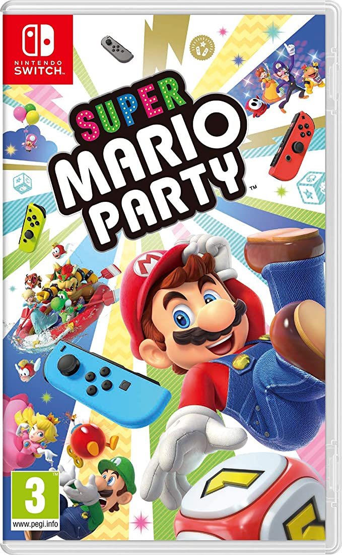 SUPER MARIO PARTY - Nintendo Switch [Importación italiana]
