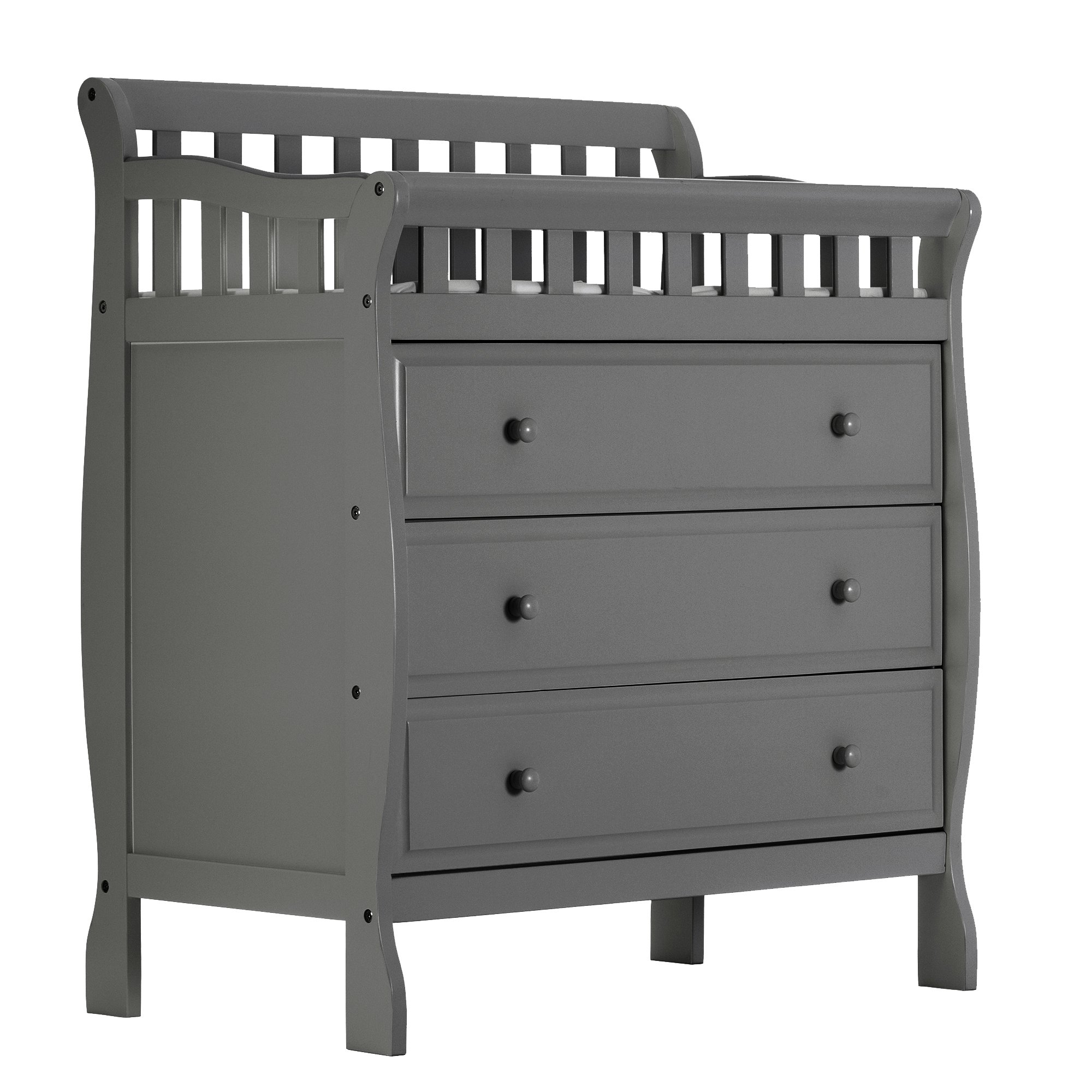 Dream On Me Marcus Changing Table and Dresser, Storm Grey