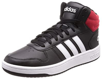 Adidas Men's Hoops 2.0 Mid Basketball Shoes: Buy Online at