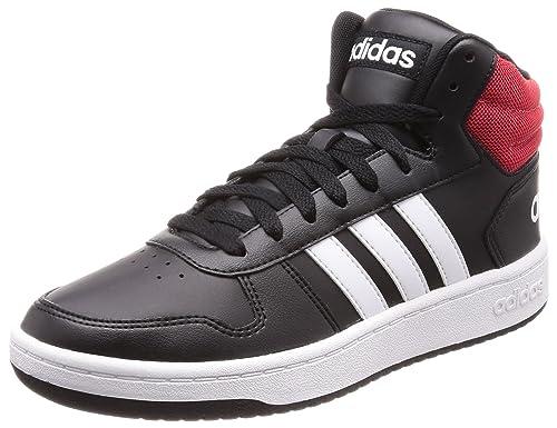 54d2335208840 Adidas Men s Hoops 2.0 Mid Cblack