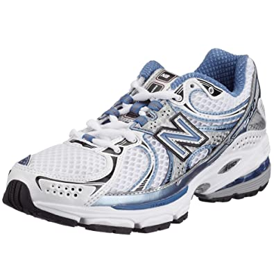 ee54b7d6aebb New Balance Women's WR760 NBX Stability Running Shoe,White/Blue,6.5 B