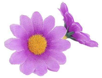 Decorazioni Fai Da Te Per Feste : Fiveseasonstuff pezzi cm teste a margherita di seta fiori