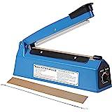 Impulse Heat Sealer 8 inch Impulse Bag Sealer Poly Bag Sealing Machine Heat Sealing Machine with Replacement Kit for Plastic