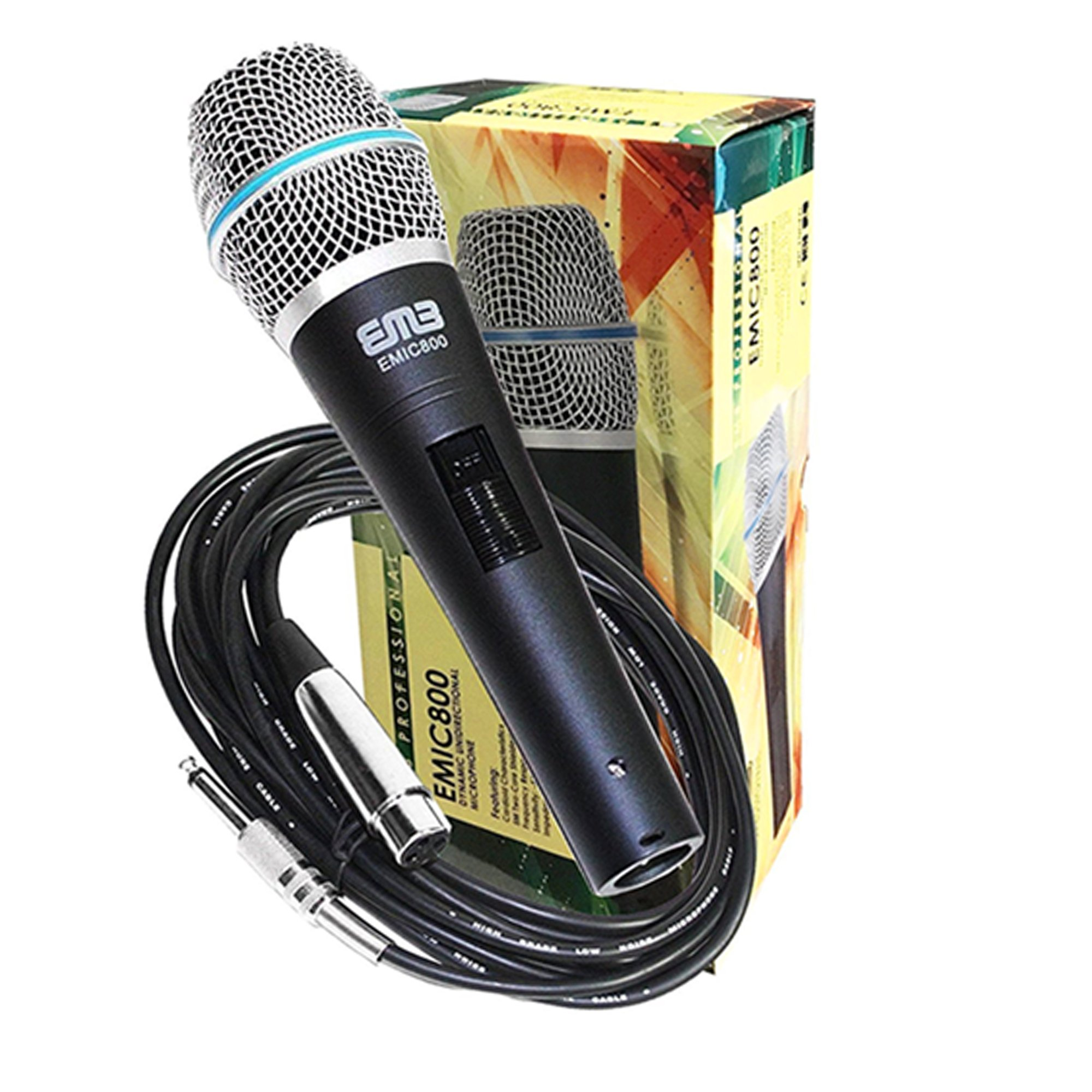 Package - Behringer Xenyx Q502USB Premium 5-Input 2-Bus Mixer + 1 EMB Emic800 Microphone + 1 Microphone Stands by Package (Image #5)