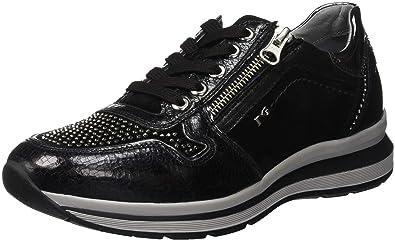 Nero Giardini Crack Velour, Zapatillas sin Cordones para Mujer: Amazon.es: Zapatos y complementos
