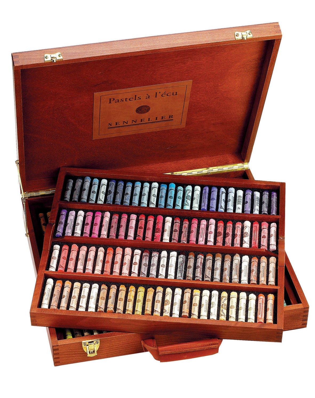 Sennelier Soft Pastel Wood Box Set of 175 Full Sticks