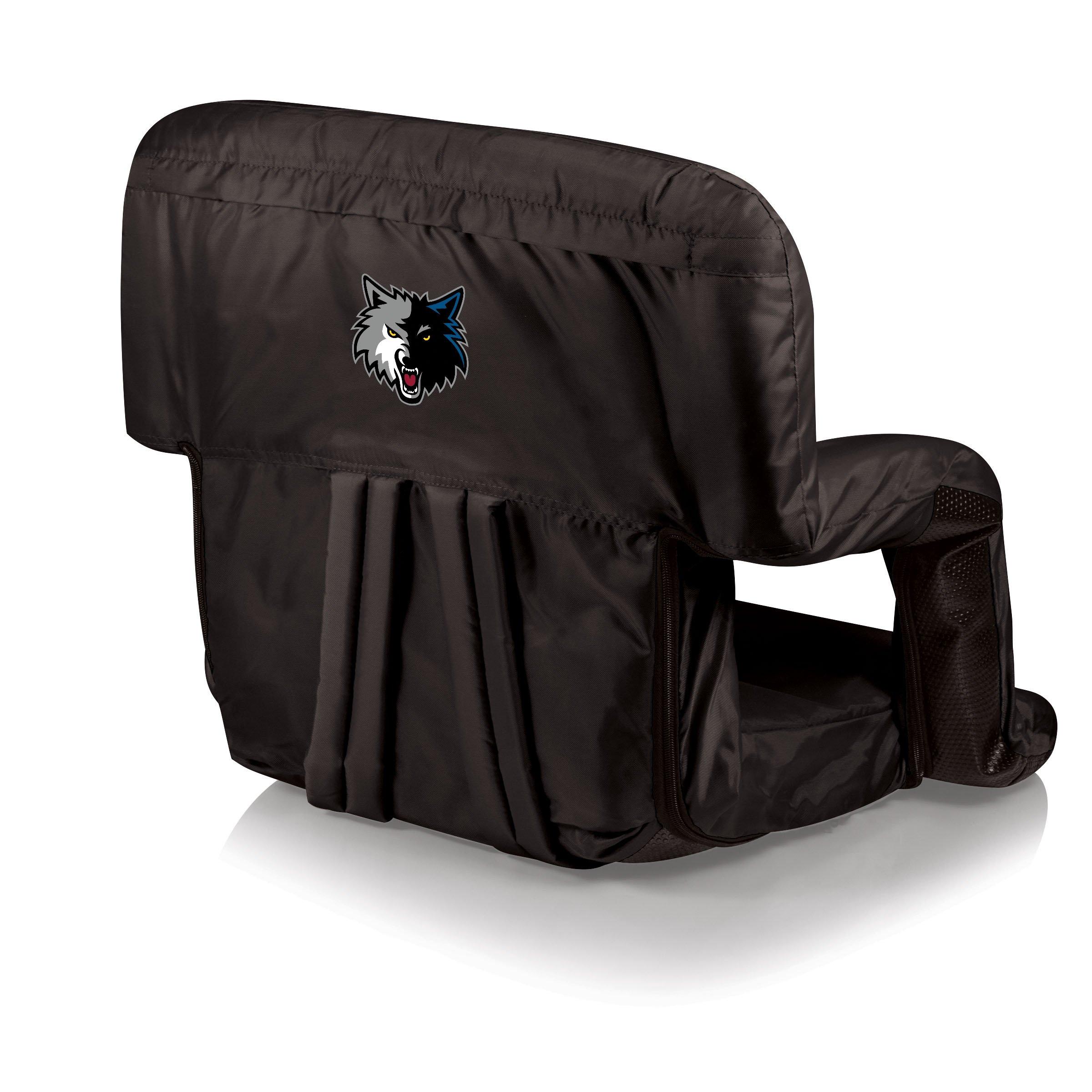 PICNIC TIME NBA Minnesota Timberwolves Ventura Portable Reclining Seat