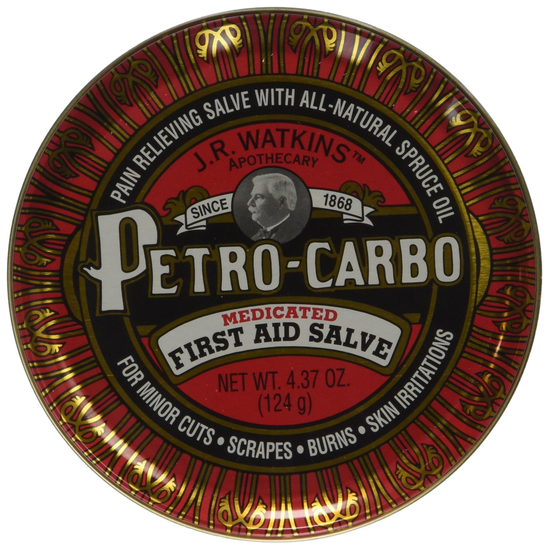 Watkins J.R Petro Carbo First Aid Salve 4.38 oz