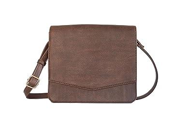 e97ac515322 Crossbody Bag (Dark Brown)  Handbags  Amazon.com