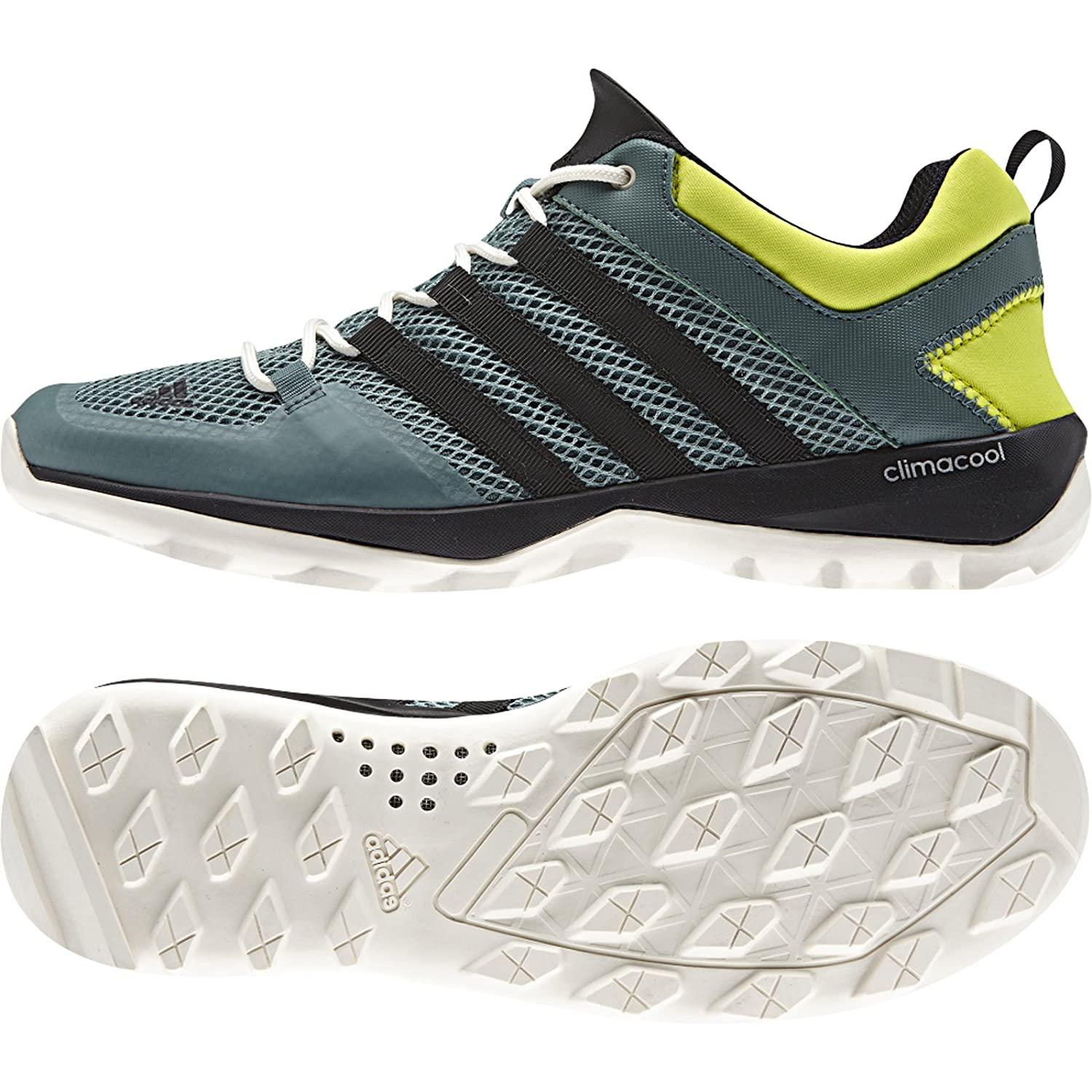 Best Drop Shipping Adidas Daroga Trail Cc M Couple running shoes Gray yellow[V21588