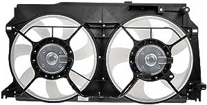 Dorman OE Solutions 620-850 Radiator Dual Fan Assembly