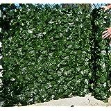 Best Artificial (TM) Mûr de clôture feuille de lierre anglais 3m x 1m Aménagement paysager * * Protection contre les UV * *