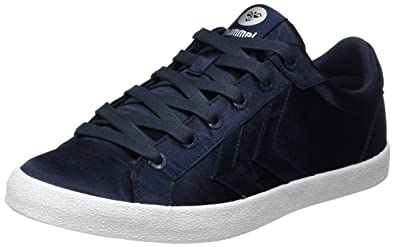 Hummel Deuce Court Satin, Sneakers Basses Femme, (White), 39 EU