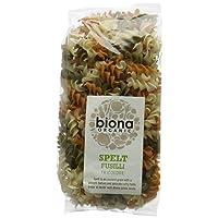 Biona Organic Spelt Fusilli Tricolor 250g (Pack of 6)