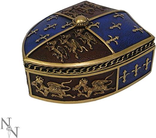 Nemesis Now Box 16cm Red Caja Medieval (16 cm), Color Rojo, Resina, Talla única: Amazon.es: Hogar