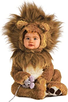 Brown Lion Cub Baby Costume Toddler
