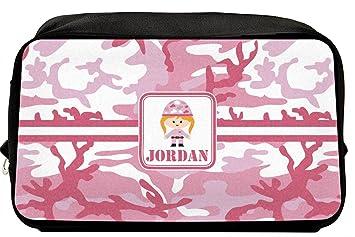 25c8f1e4492e Amazon.com   Pink Camo Toiletry Bag Dopp Kit (Personalized)   Beauty