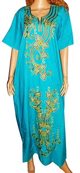 904b72f4a12194 1 Pcs Egyptian Cotton Embroidered Jilbab Dress Galabeya Abaya Islamic  kaftan Caftan Galabiya Thoub Thob Jilbab