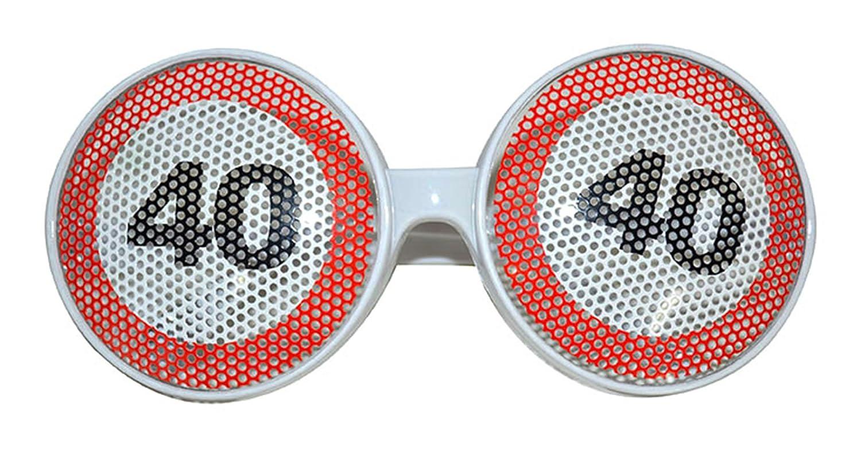 karnevals Bud - Disfraz Gafas - 40. Fiesta de cumpleaños con ...