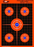 "100-Pack ""Super-Saver"" Bundle - Premium Bullseye Shooting Targets 