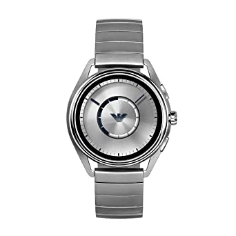 c881f3348a350 Amazon.com: Emporio Armani Men's Stainless Steel Plated Touchscreen ...