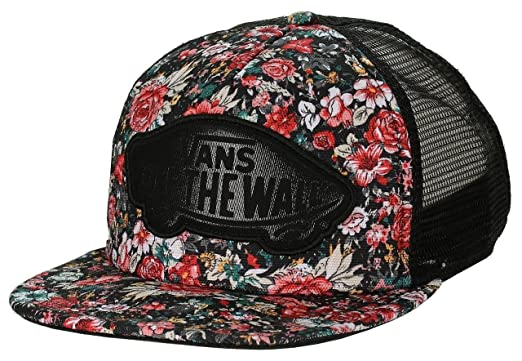 2e8762c335 Image Unavailable. Image not available for. Color  Vans Off The Wall  Women s Beach Girl Trucker Snapack Hat Cap ...