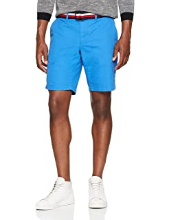 Denton Short Lt Twl Corp. Stripe, Pantalones Cortos para Hombre, Blanco (Bright White 100), (Talla del Fabricante: 31) Tommy Hilfiger